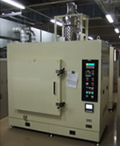 De-wax furnace with exhaust combustion furnace