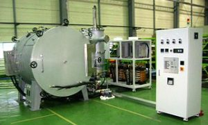 Electric furnace for sintering