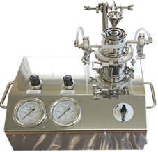 超小型气流粉碎机 研究开发专用 实验机【JKE-30】